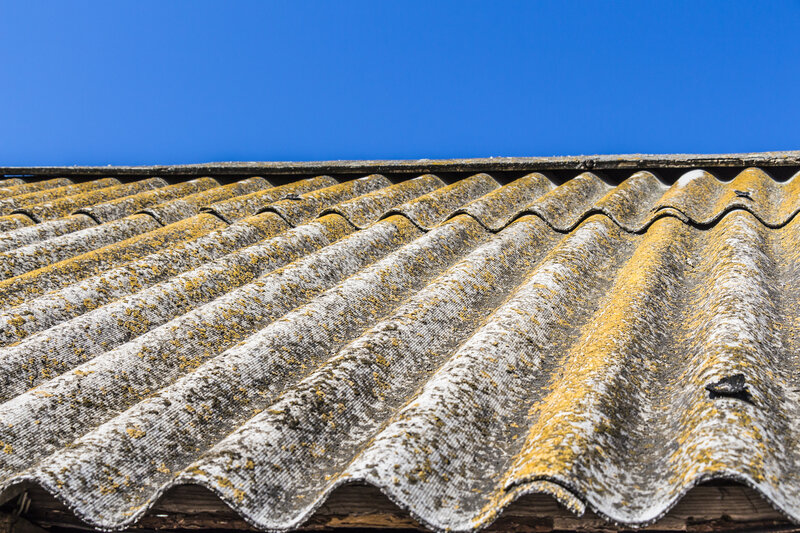 Asbestos Garage Roof Removal Costs Stockport Greater Manchester